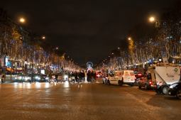 The Champs-Élysées!