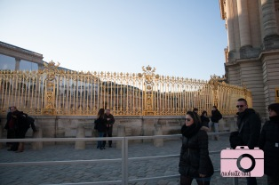 Look at those gold gates