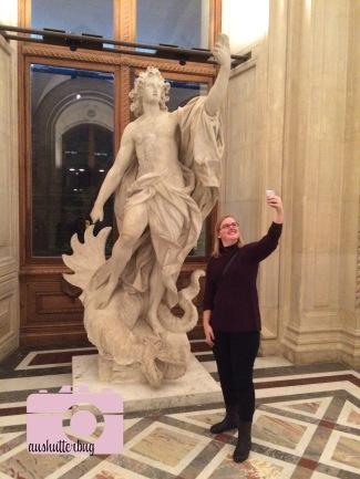I'm pretty sure Apollo was taking a selfie...