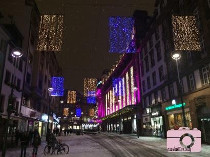 Lights in Strasbourg