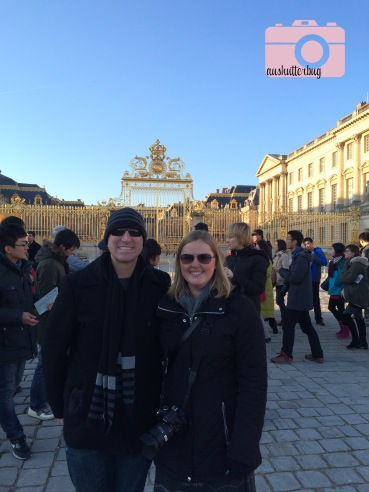 Josh and I in front of Versailles