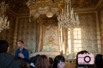 Marie Antoinette's bed and room