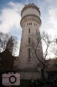 water tower in Montmartre