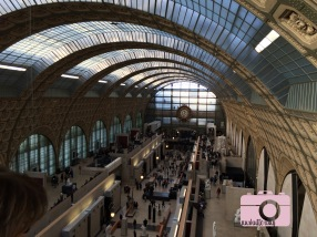 The Musee d'Orsay building is a work of art